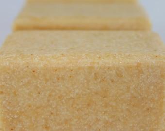 Lemongrass Facial Salt Soap for Acne