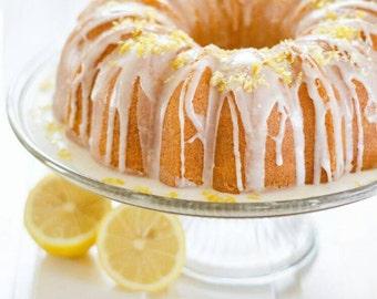 Vegan - Coconut - Lemon Bundt Cake w/ Vanilla Lemon Icing
