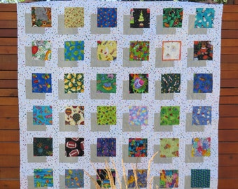 "Child's ""I Spy"" Quilt, Shadow Box Quilt for child"