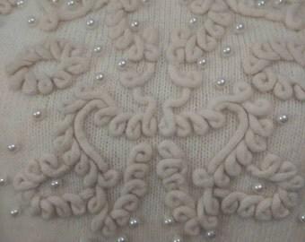 Vintage lambswool angora sweater