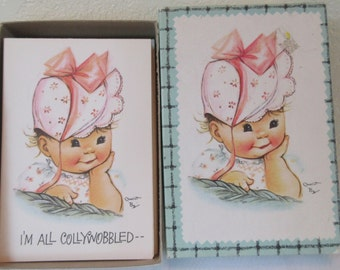Vintage Unused  1960s Small Talk from the Coronation Collection Charlot Byj  All Occasion Greeting Cards Box of 17 in Original Box