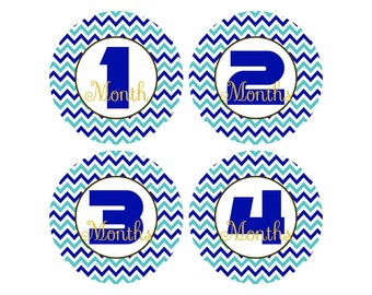 Baby month stickers baby boy stickers monthly stickers baby boy monthly stickers