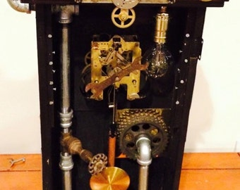 Steampunk influenced light, functional