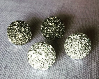 Sparkly Stud Earrings - Faux Druzy Posts - Shiny Stud Earrings - Bridal Stud Earrings - Formal Stud Earrings - Wedding Jewelry - Bling Studs