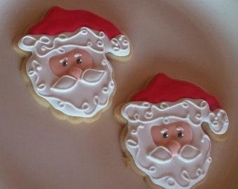 Christmas cookies  Santa and his Reindeer