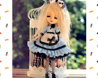 Pullip Doll Alice in Wonderland Outfit Dress