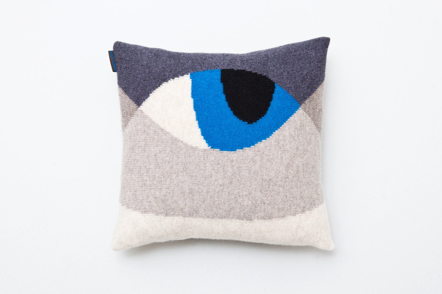 Knitted Cat Pillow Animal Cushion