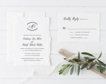 Printable Wedding Invitations with Option to Print