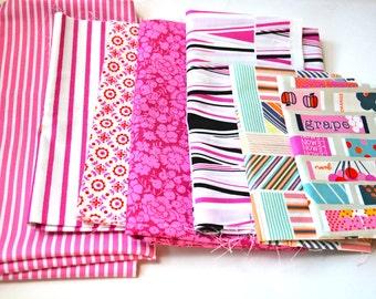 Destash: pink FQ bundle
