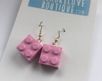 Lego Dangle Earrings - Lego Earrings - Legos - Lego Jewellery - Colourful Lego Jewelry - Legoes