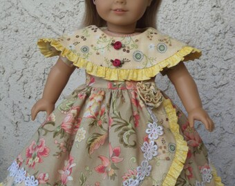 Special Occacion Gown /  For Marie Grace or Cecile / Clothes for 18'' Inch Doll