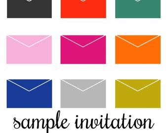 SAMPLE Invitation Suite