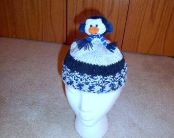 Penguin Hat for Infant