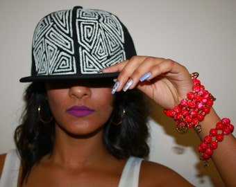 Aztec HYPE Hand Painted Hat