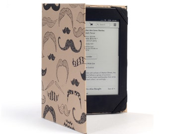 "Kindle, tablet or phone case ""Mustache"""