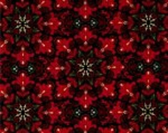 Christmas Splendor - Red Paisly