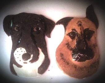 Custom Ceramic Pet Wall Decor