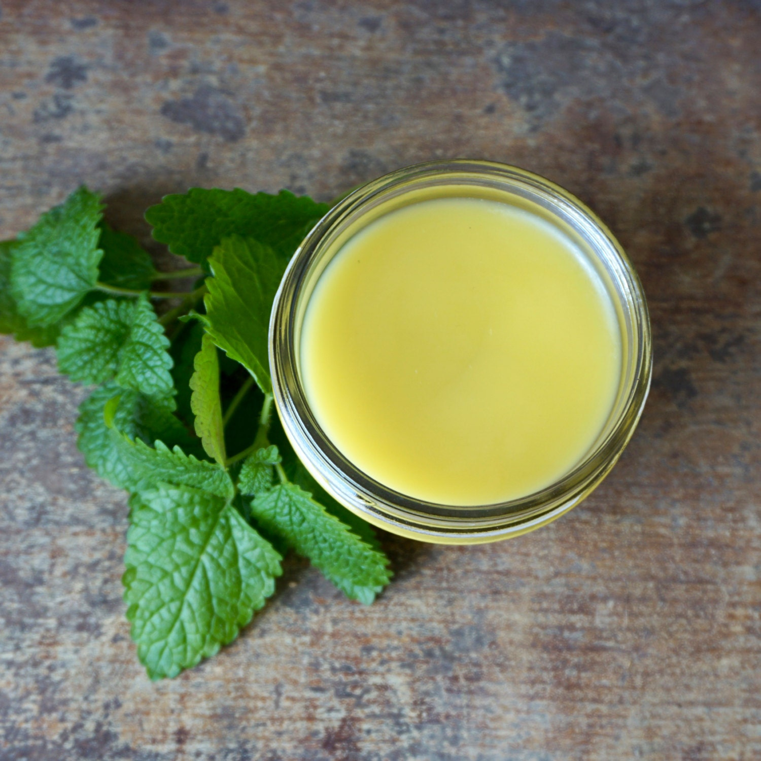 how to make lemon balm salve