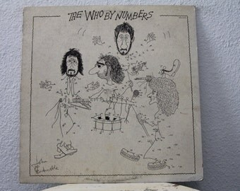 """The Who - """"The Who By Numbers"""" vinyl record"""