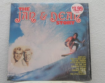 """Jan & Dean - """"The Jan and Dean Story"""" vinyl record"""