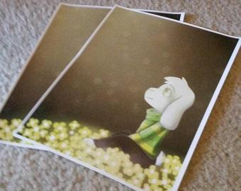 Asriel Undertale 8.5x11 glossy art prints