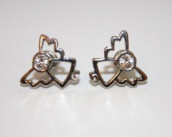 Elegant Angel Stud Earrings - Gift Idea FOR HER - Ready to Ship