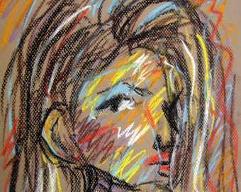 Original Pastel Sketch from Artisan - Amy LeNay