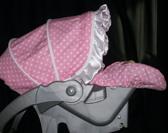 Car Seat Cover with Matching Blanket