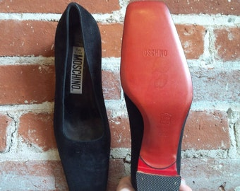 Red Bottoms Moschino Designer Shoes MOSCHINO Christian Louboutin Style
