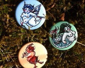 Fae Fatties Button Trio (shipping included)