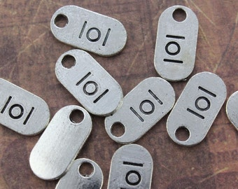 15 lol Charms lol Sign Charms Omg Note Charms Antiqued Silver Tone 18 x 9 mm