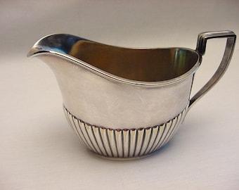 Gorham Queen Anne EPNS Creamer Vintage 1938 Hollowware Silverplate