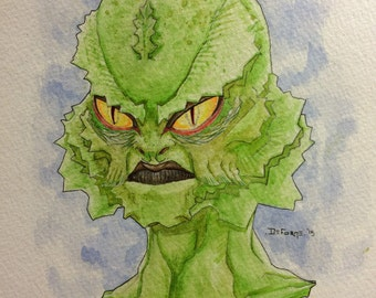 Creature from the Black Lagoon Portrait