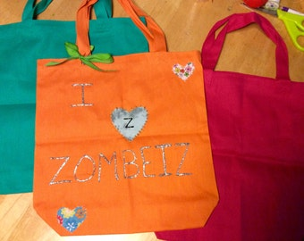 Zombeiz Tote - Diaper Bag