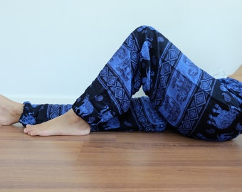 CH0035 Gypsy Pants Rayon Pants,Aladdin Pants Maxi Pants Boho Pants