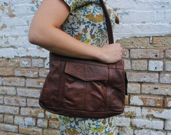Brown Pocket Handbag