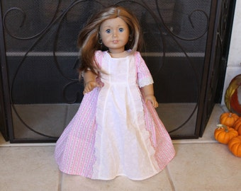 18 inch American Girl doll historical dress
