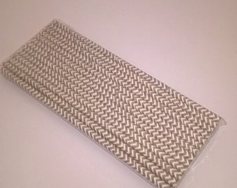 25 psc paper straws/25 papirnatih slamic