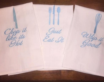 3 towel kitchen set