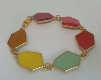Geometric Colorful Bracelet