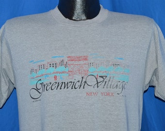 80s Greenwich Village New York Souvenir t-shirt Medium