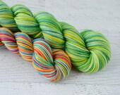 Luck of the Irish Shortie Socks heel/toe sock set - superwash merino/nylon sock yarn (231 yd skein w/matching 100 yd skein)