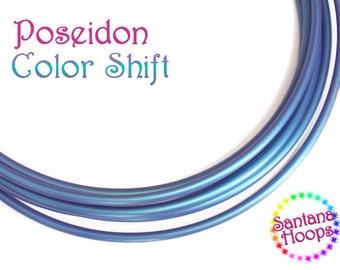5/8 Minis Twins Poseidon Color Shifting Hula Hoop shift morph