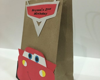 Cars Lightning McQueen, Cars Lightning McQueen Party, Cars Lightning McQueen party favors