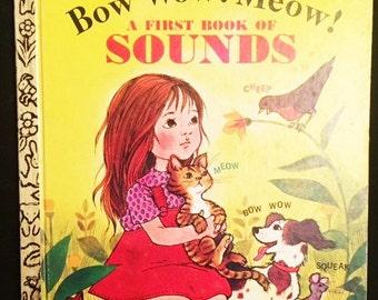 "Little Golden Book - ""The First Book of Sounds"" - 1980"