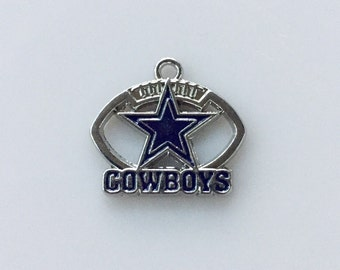 Dallas Cowboys Football Charm