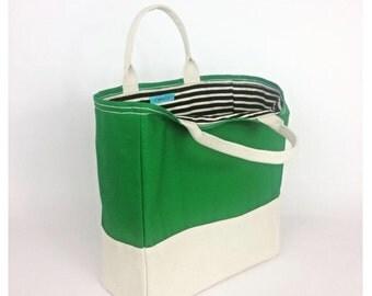 Nicole Canvas Market Tote, Shopping Bag