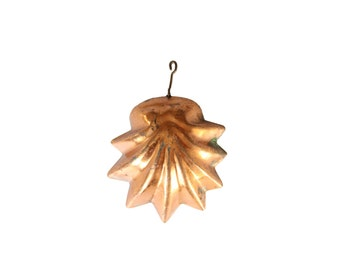 Vintage Copper Shell Mold
