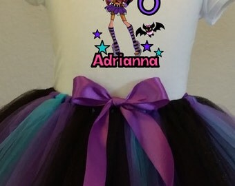 Monster High, Claudine wolf tutu and T-shirt