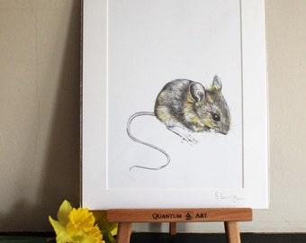 Mousey Art Print